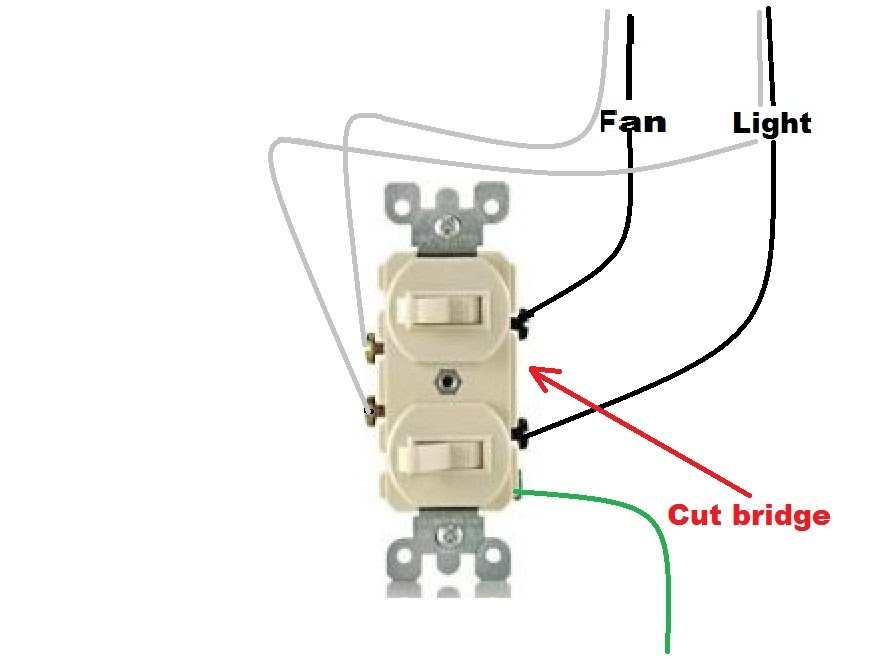 double light switch wiring diagram  wiring diagram