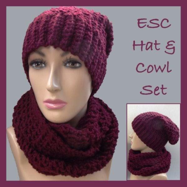 ESC sombrero y capucha