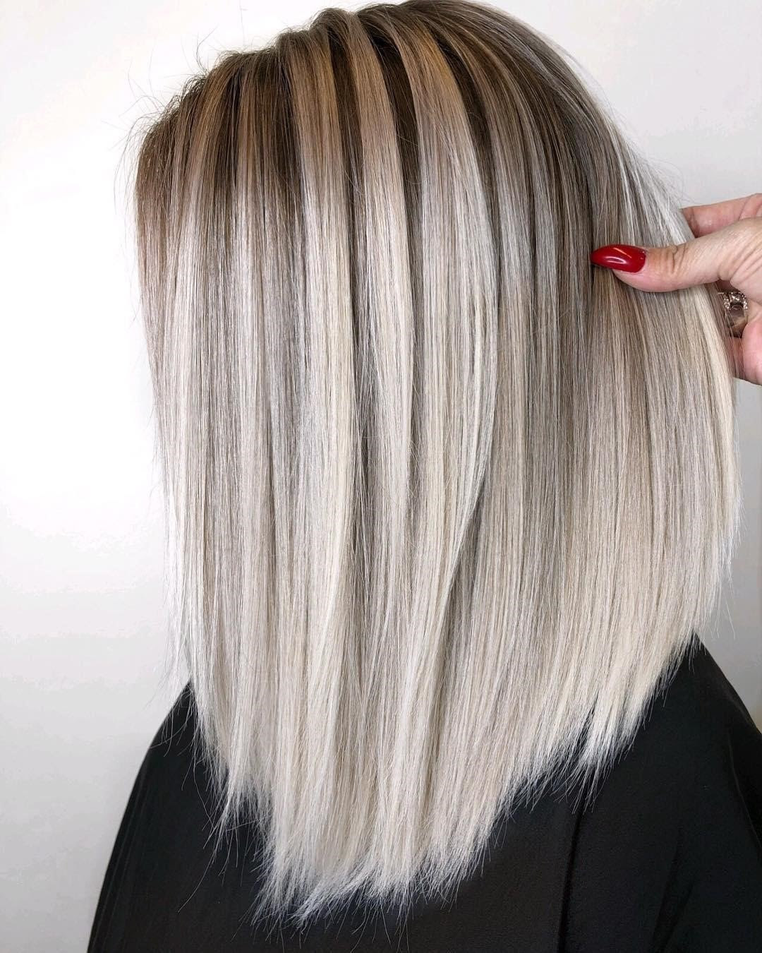 10 Of The Sexiest Shades For Platinum Blonde  Hair  You Will