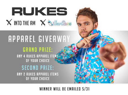 INTO THE AM x iHeartRaves x Rukes Apparel Giveaway