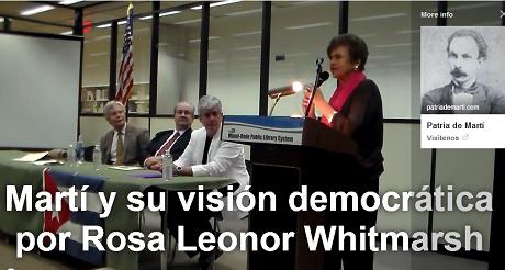 simposio Marti vision democratica Rosa L Whitmarsh