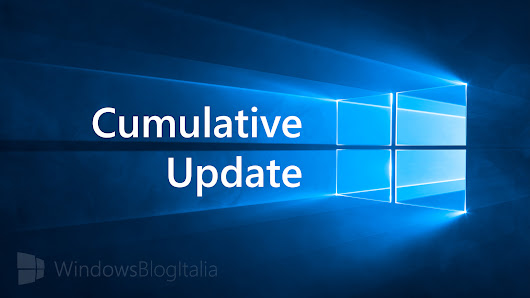 Disponibile un quarto aggiornamento cumulativo di settembre 2018 per Windows 10