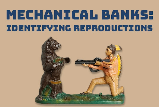 Estate Sale Collectibles: Mechanical Banks