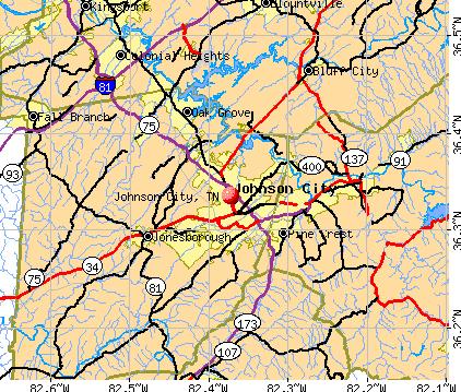 Johnson City Tennessee Tn Profile Population Maps Real Estate
