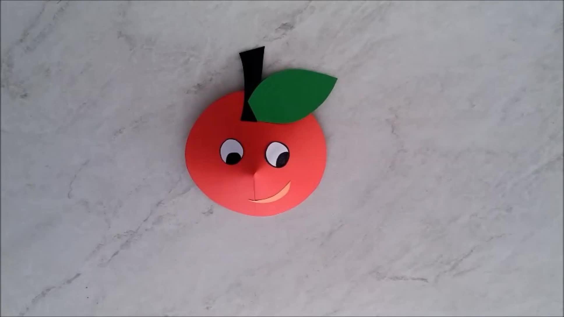 Kağıttan Elma Yapımı Izle Video Eğitim Bilişim Ağı