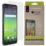 PureGear Puretek 9H Hard Japanese Tempered Glass Screen Protector Guard [with Perfect Alignment Install Tray] for LG G6 | LG G6+ | LG G6 Plus