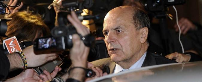 """Pd, Bersani: """"La scissione è già avvenuta, da Renzi solo dita negli occhi. Chi sta intorno a lui usi il buonsenso"""""""