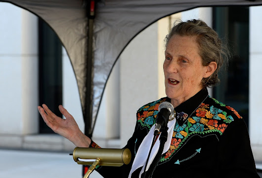 Temple Grandin will be inducted into National Women's Hall of Fame, Q&A