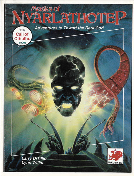 A Review of the Role Playing Game Supplement Masks of Nyarlathotep by Larry DiTillio and Lynn Willis