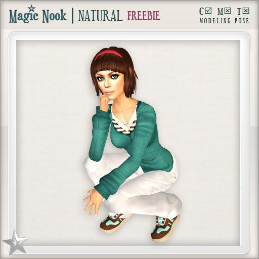 [MAGIC NOOK] Natural (Modeling Pose) /FREEBIE/