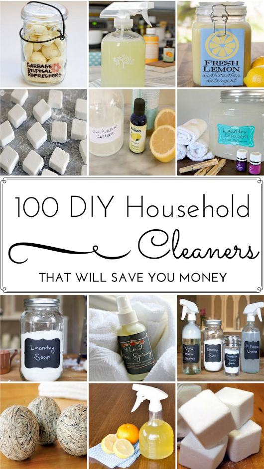 100 DIY Household Cleaner Recipes That Will Save You Money - Prudent Penny Pincher