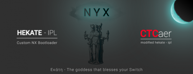 Hekate CTCaer Mod 5.5.6 and Nyx v1.0.3 Released