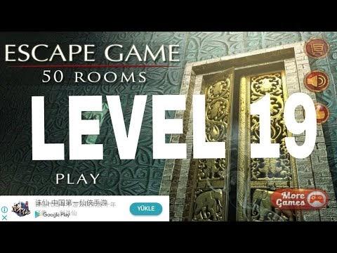 Escape Game 50 Rooms 1 Level 19 Walkthrough Doors Geek