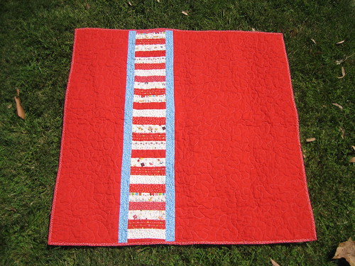 Stacked Quilt - back