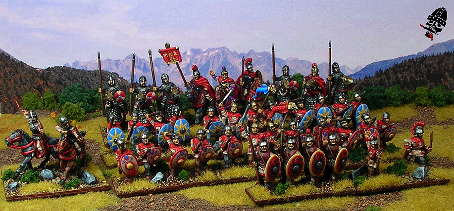 II/83a Patrician Roman Army by Alain Touller Figurines painted by Neldoreth