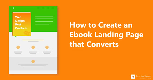 How to Create an EBook Landing Page that Converts