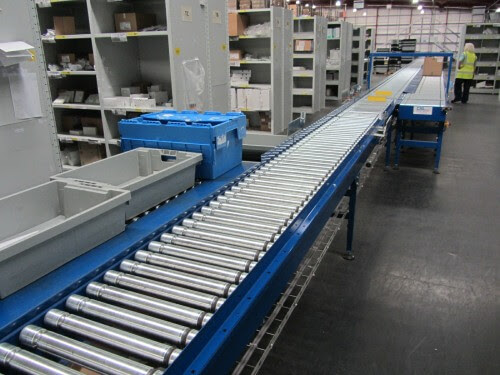 Conveyor Systems Ltd just the tonic for accurate NHS order picking