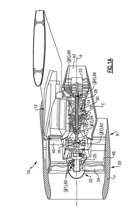 Patent US20120099963 - Engine mount system for a turbofan