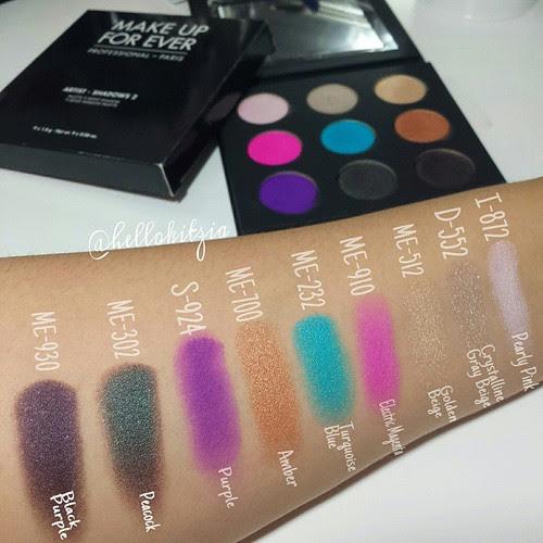 Makeup forever artist palette 2