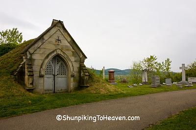 Receiving Vault, Grandview Cemetery, Chillicothe, Ohio