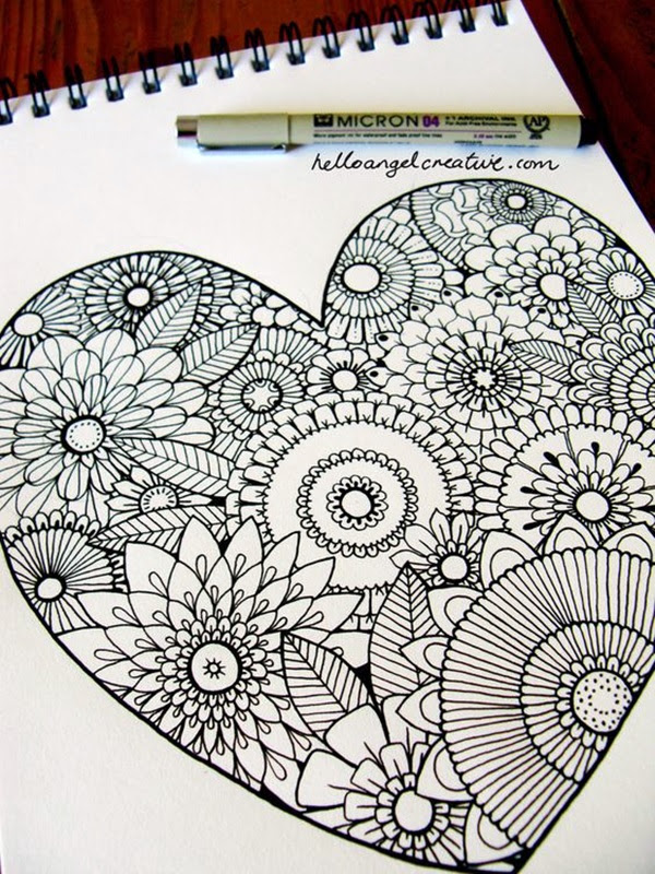 Absolutely Beautiful Zentangle patterns For Many Use (7)