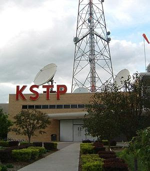 Entrance to the KSTP studios on University Ave...