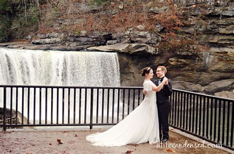 Rain On Your Wedding Day :: Cumberland Falls, Kentucky