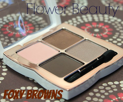Flower Beauty: Foxy Browns Eyeshadow Quad Review ...