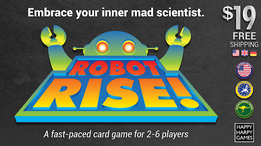 ROBOT RISE! Embrace Your Inner Mad Scientist