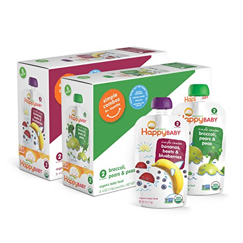 Plum Organics Stage 2, Organic Baby Food, Fruit and Veggie Variety Pack, 4 ounce pouch (Pack of 18): Amazon.com: Grocery & Gourmet Food