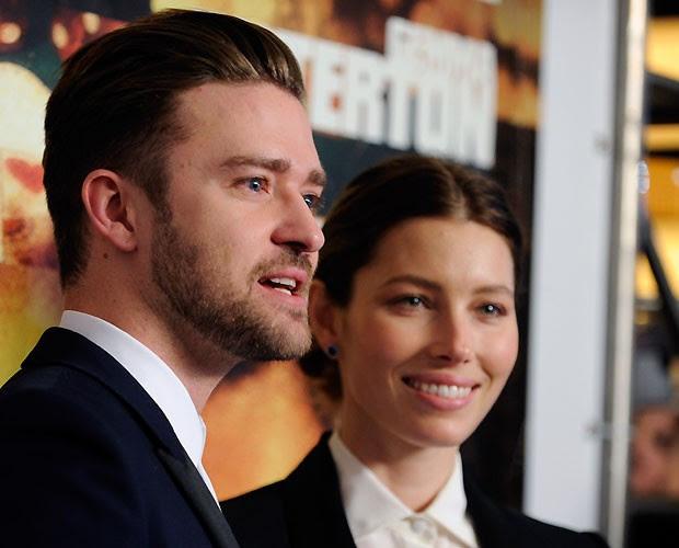 Justin Timberlake e Jessica Biel (Foto: GETTY IMAGES)
