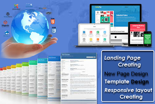 do responsive landing page within 3 hours - fiverr