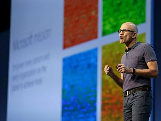 The rise of Satya Nadella, the game-changing CEO of Microsoft