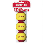 Wilson US Open Tennis Balls, Red - 3 pack