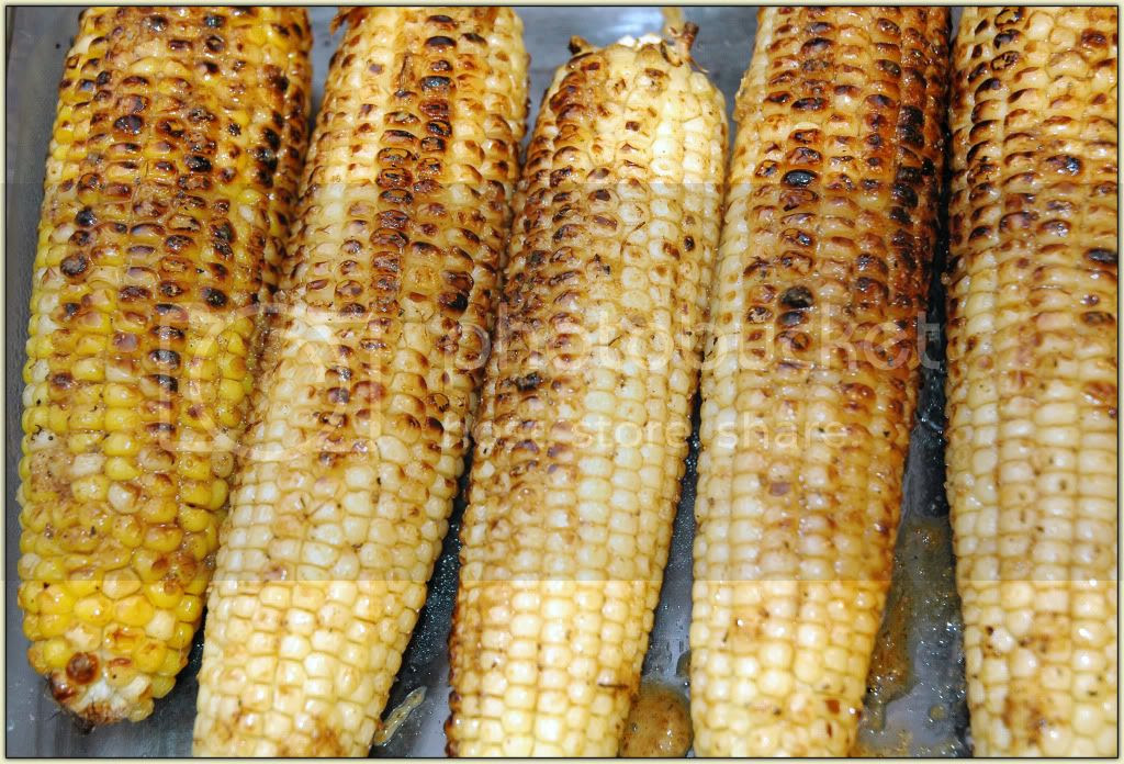 Roasted Corn with Chesapeake Butter