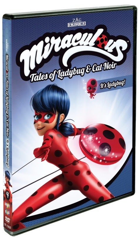 Miraculous: Tales of Ladybug & Cat Noir: It's Ladybug Giveaway and Review