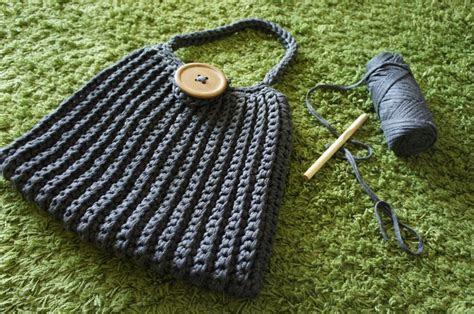 anleitung grosse haekeltasche aus textilgarn tasche