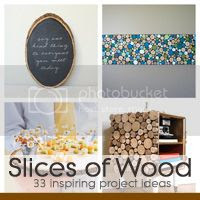 33 inspirational DIY wood slice projects