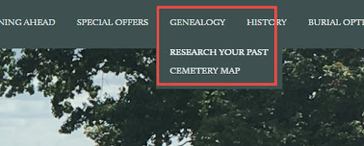 New On-Line Database for New Cathedral Cemetery in Baltimore