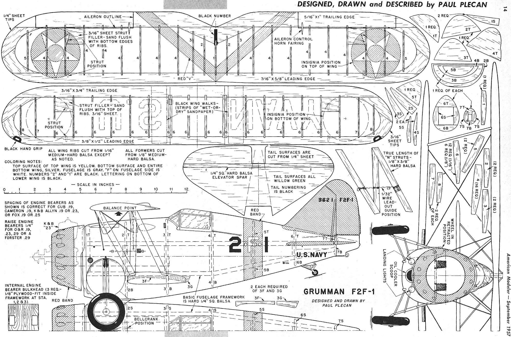 For You Plans For Balsa Wood Rc Airplane M Still