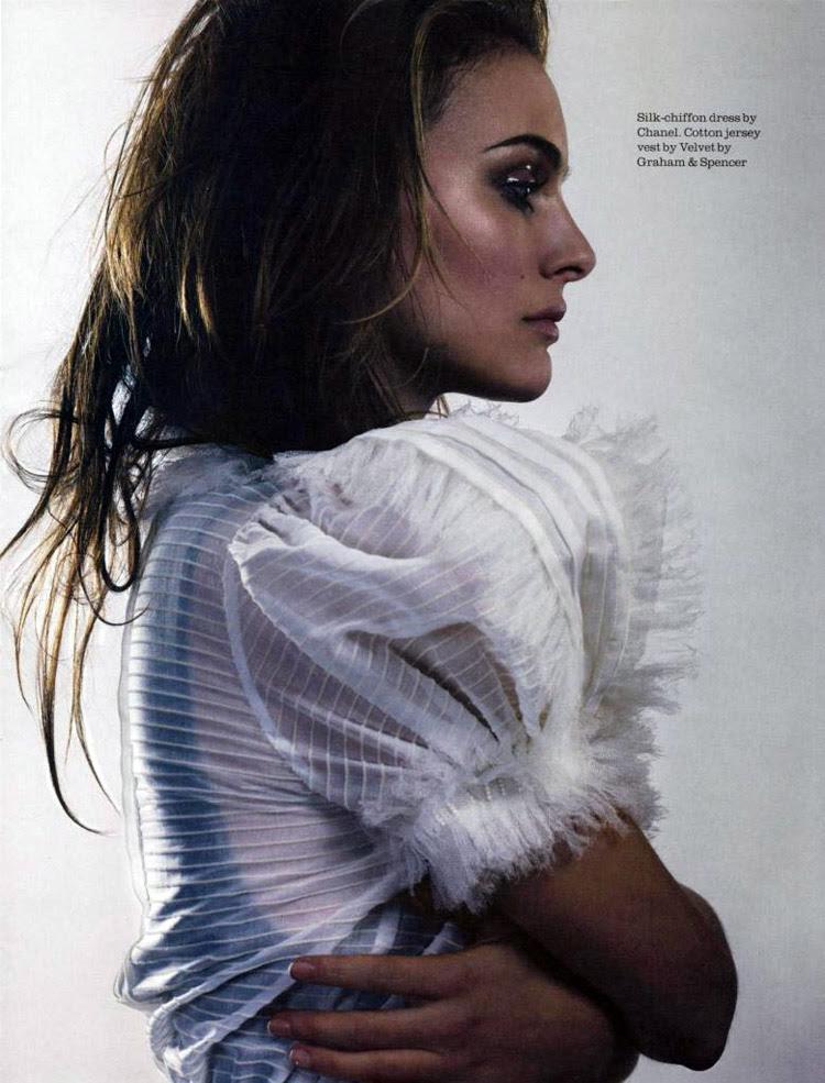 Natalie Portman Elle UK .