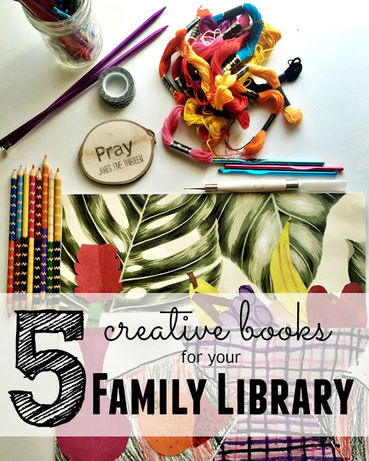 Books for A Creative Family Library