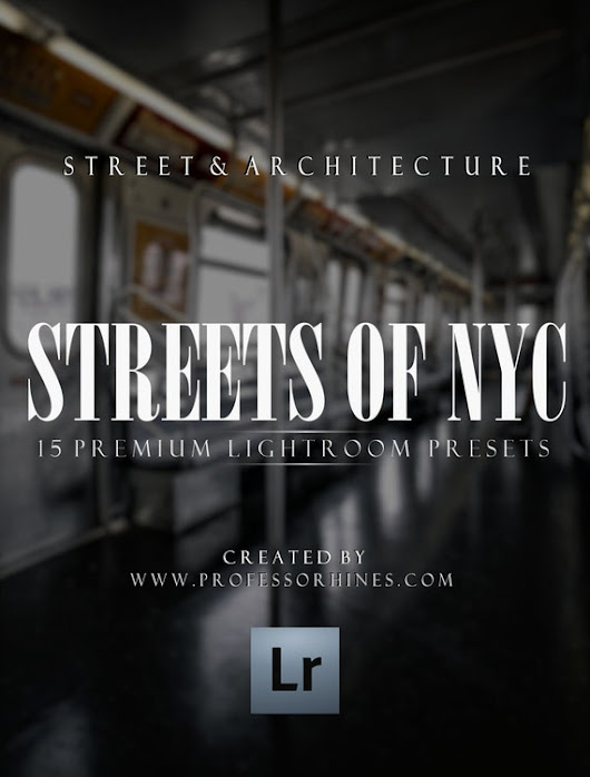 Professor Hines' Choice x Streets of New York by professorhines