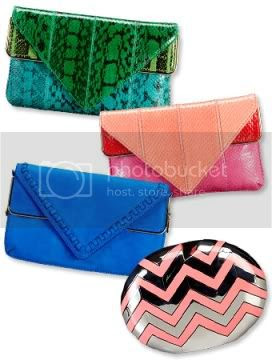Brian Atwood Clutch Collection for Gilt