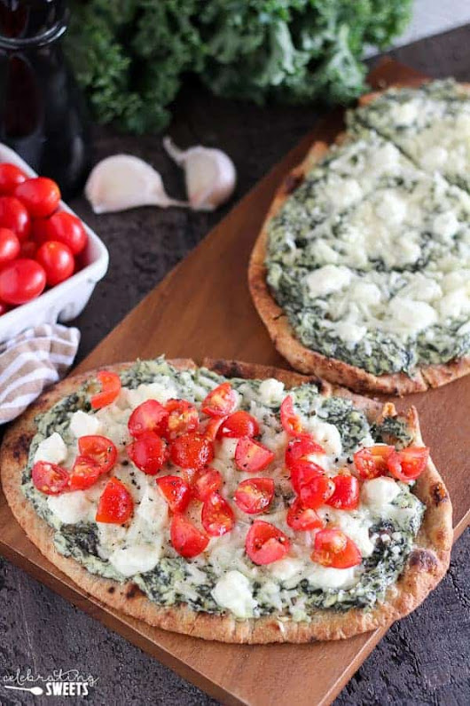 Kale and Goat Cheese Flatbread