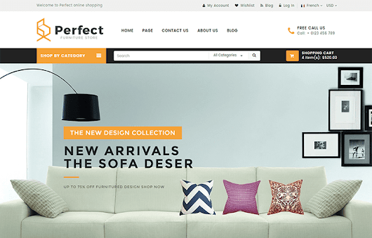 Perfect – Responsive Ecommerce HTML5 Template