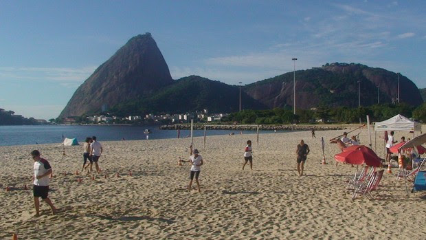 Circuito de praia - Pão de Açúcar (Foto: Luiz Cláudio Amaral / Globoesporte.com)