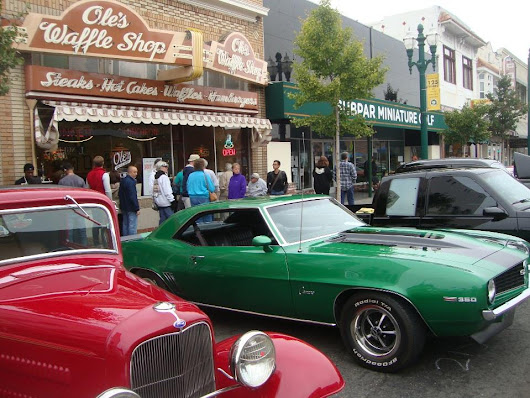 Downtown Alameda's Classic Car Show Revs Up For Family Fun