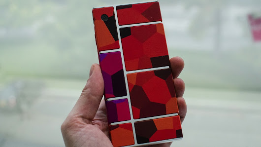 Project Ara: our best look yet at Google's new modular smartphone