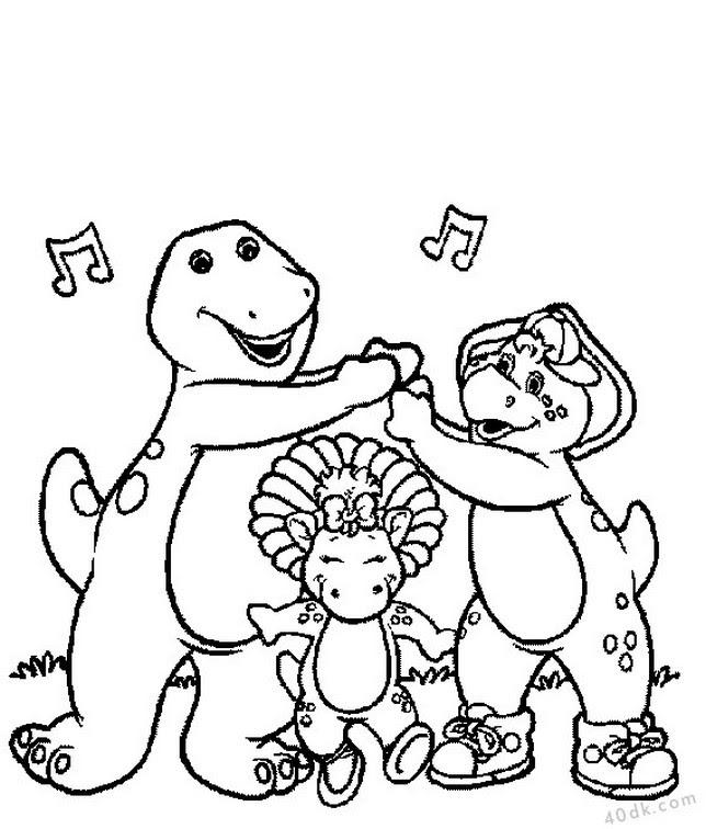 40dkcom Dinozorlar Boyama Sayfası 689 40dk Eğitim Bilim